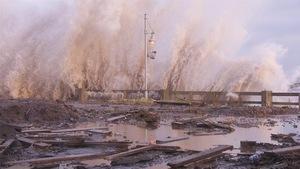 Les tempêtes se font de plus en plus agressives en Gaspésie, en raison des changements climatiques.