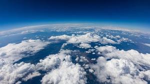 Un aperçu de la Terre, vue de l'espace.