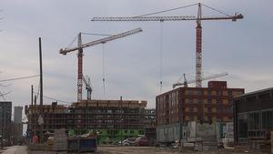 Travaux de construction d'édifices