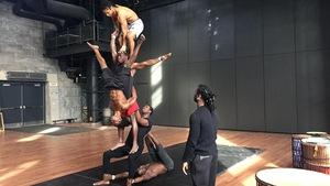 De la Guinée à Montréal, le rêve des acrobates du cirque Kalabanté