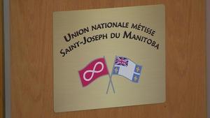 Logo de l'Union nationale métisse Saint-Joseph du Manitoba