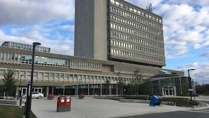 L'Université Laurentienne.