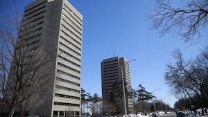Le campus de l'Université Laval