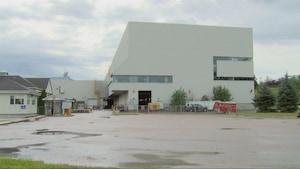 L'usine de Produits forestiers Résolu à Dolbeau-Mistassini
