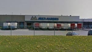 L'usine Multi-Marques, à Laval, en mai 2016