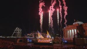 Le spectacle Veles e Vents est présenté à l'Agora du Vieux-Port les 19 et 21 juillet