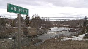 Conservation Sudbury le niveau de l'eau de la rivière Vermilion à Sudbury