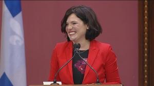 La directrice générale du Parti libéral du Québec, Véronyque Tremblay
