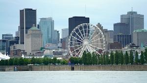 Vue du centre-ville de Montréal