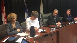 La directrice des services financiers et trésorière à la Ville de Rouyn-Noranda, Hélène Piuze, présente le rapport financier consolidé pour l'année 2016.