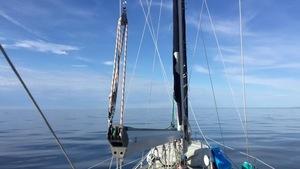 À bord du Frimousse, avant la grande traversée