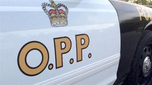 Une voiture patrouille de la Police provinciale de l'Ontario.