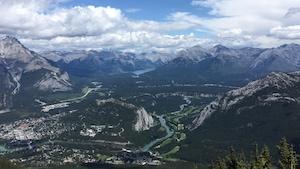 Le mont Sulphur, à Banff, en Alberta