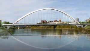 Le nouveau pont Walterdale d'Edmonton