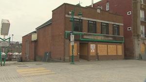 L'ancien restaurant Pap's, rue Wellington Sud