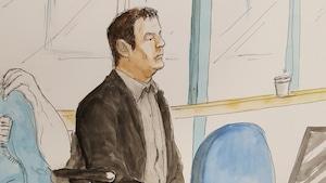 Yves Martin lors de son procès