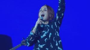 La chanteuse Zaz en spectacle
