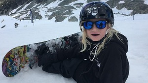 Eli Bouchard, planchiste globe-trotter à 9 ans