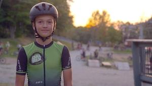 Maxime St-Onge, retrouver le plaisir du vélo