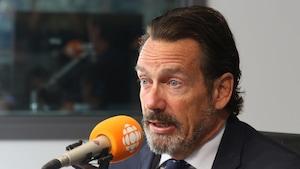 Pierre Karl Péladeau, président et chef de la direction de Québecor