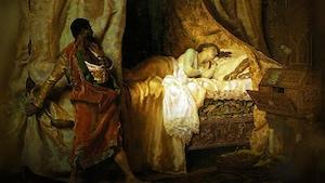Tableau : Desdemone et Othello par Antonio Muñoz Degrain