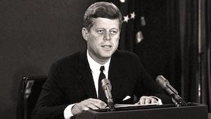 <b>John F. Kennedy dévoile la présence de missiles à Cuba</b> | ©AP
