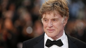 Robert Redford sur le tapis rouge du film All is lost, de  J.C. Chandor, à Cannes
