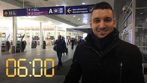Pierre-Alexandre Décary quitte Montréal chaque lundi matin pour y revenir chaque jeudi soir.
