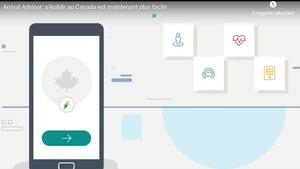Une image stylisée d'un téléphone mobile et des symboles de voitures, de santé, et de logement.
