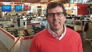 Mark Power en entrevue à Radio-Canada.