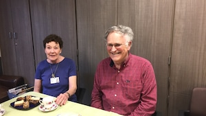 Marg Haggarty et Harold Eldridge participent au programme depuis 10 ans