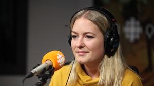 Camille Gagnon, en studio