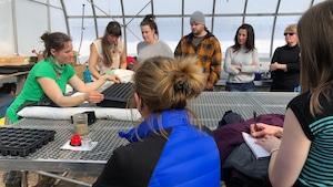 Atelier sur les semis offert par la coopérative Gaïa de Pointe-aux-Outardes