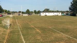Terrain de soccer à Dalhousie