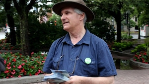 Le chef adjoint du Parti vert, Daniel Green.