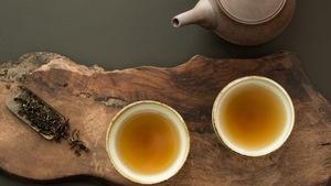 Une dégustation de thé