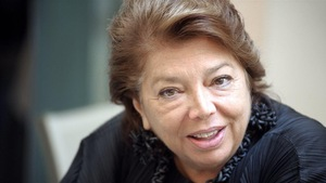 L'ex-diplomate palestinienne Léïla Shahid.