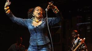 La chanteuse malienne Oumou Sangaré.