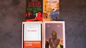 La couverture de quatre livres.