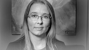 Une photo de Cynthia Turcotte, cette psychologue qui a reçu un traitement de Glybera lors d'un essai clinique à Chicoutimi.
