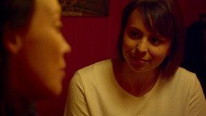 Image tirée du film Tadoussac réalisé par Martin Laroche (on aperçoit 2 comédiennes)