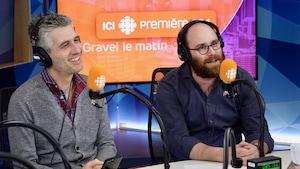 Olivier Niquet et Alexandre Coupal