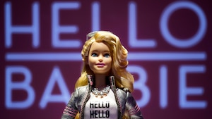 La poupée Hello Barbie.
