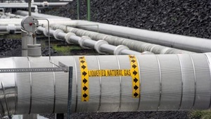 Conduite de gaz naturel.