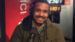 Moussa Sangaré-Ponce a grandi à la Baie Sainte-Marie en Nouvelle-Écosse.