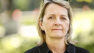 Marie-Hélène Tremblay, responsable des affectations à l'Assemblée nationale pour Radio-Canada.