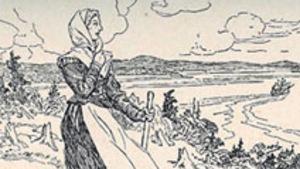 Esquisse de Marie Rollet