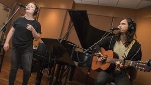 Fanny Bloom et Philémon Cimon au studio 18