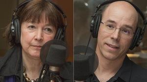 Monique Brodeur et Sébastien Stasse au micro de Catherine Perrin.