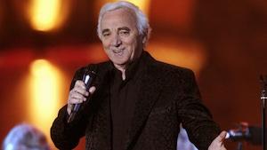 Le chanteur Charles Aznavour en 2006.